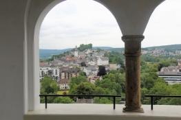 Arnsberg, Blick auf die Altstadt vom Ehmsendenkmal