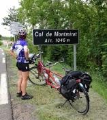 N 106 beim Col de Montmirat