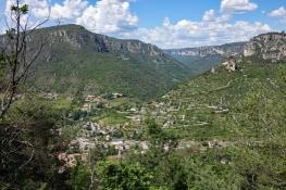 Peyreleau, Le Rozier, Rocher de Capluc)