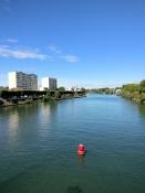 Die Seine bei Saint-Denis