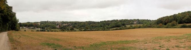 Zwischen Longuesse und Vigny
