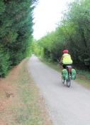 Auf dem Voie Verte de la Vallée de lʹEpte