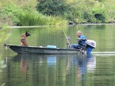 Angler bei Heudebouville