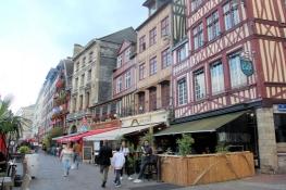 Rouen, Place de Vieux Marché