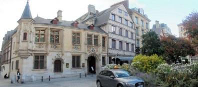 Rouen, lʹhôtel de Bourgtheroulde