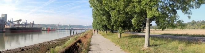 An der Seine bei Val-de-la-Haye
