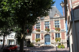Town Hall in Montivilliers
