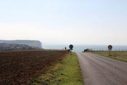 Blick zurück über Criel-Plage
