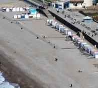 Strand bei Le Tréport