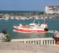 Hafen in Le Tréport
