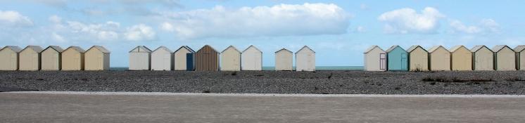 Strandkabinen in Cayeux-sur-Mer