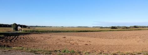 Landschaft bei Saint-Valery