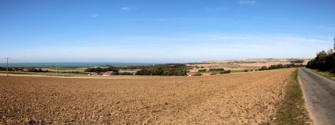 Landschaft bei Wissant