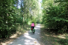 Radweg bei Loon-Plage