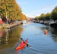 Bruges, at the Ghent-Bruges canal