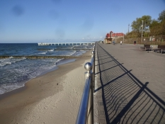 Strandpromendaden i Selenogradsk/The seaside promenade in Zelenogradsk
