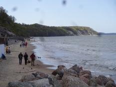 Svetlogorsks strand mod vest/Svetlogorskʹs beach to the west