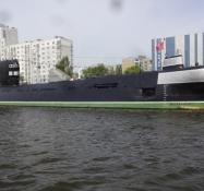 Sovjetisk atomubåd på museum/Soviet nuclear submarine on museum display