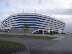 Kaliningrads flotte VM-stadion ét år efter/Kaliningradʹs posh World Cup stadium one year after