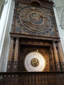 Det astronomiske ur i Mariekirken/The astonomical clock in the St. Maryʹs cathedral