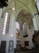 Parti fra Mariekirkens interiør/Part of the interior of St. Maryʹs