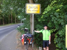 Berlin! Målbyen er nået/We made it to Berlin and have reached our goal