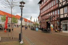Duderstadt, Marktstraße mit St. Cyriakus