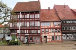 Duderstadt, Fachwerkzeile an der Marktstraße