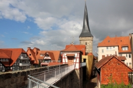Duderstadt, Rest der Stadtmauer mit Westerntor