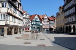 Wolfenbüttel, an den Krambuden