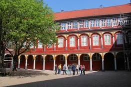 Schloss Wolfenbüttel, Innenhof