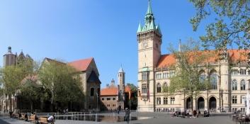 Braunschweig, Dom - Burg - Rathaus