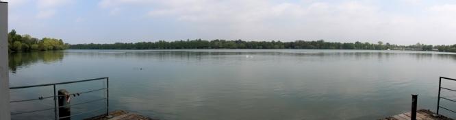 Hanover, at lake Maschsee