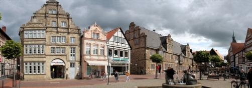 Stadthagen,  market square