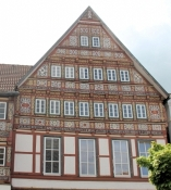 Stadthagen, house on the market square