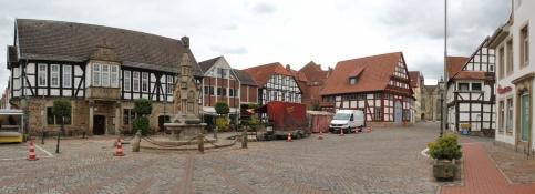 Obernkirchen, market square