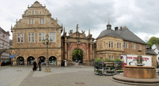 Bückeburg, market square