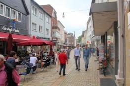 Fußgängerzone in Lübbecke