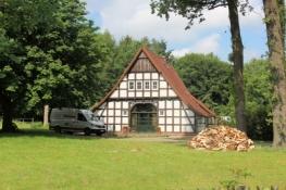 Kleiner Fachwerkhof bei Nordhausen