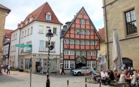 Häuser am Rathaus in Osnabrück