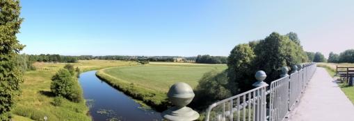 Kanalbrücke der ʺAlten Fahrtʺ des Dortmund-Ems-Kanals bei Olfen