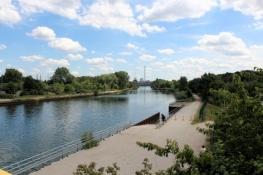 Am Rhein-Herne-Kanal bei Crange