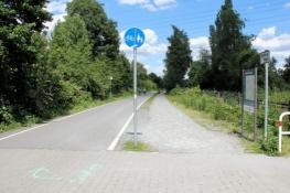 Auf dem Radschnellweg Ruhr