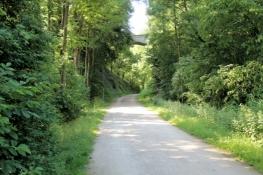 Bahntrassenradweg Kohlenbahn unterhalb Sprockhövel