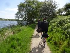 Grussti langs Nordborg sø/Gravel path along Nordborg lake