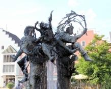 Cham, Marktplatzbrunnen