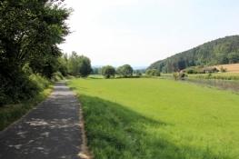In the Regen valley before Miltach
