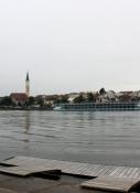 Vilshofen, vom nördlichen Donauufer