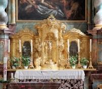 Kloster Metten, Altar der Klosterkirche St. Michael