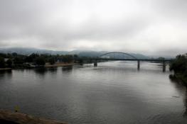 Deggendorf, Blick vom Donausteg